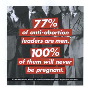 Pro life men, Anti abortion men