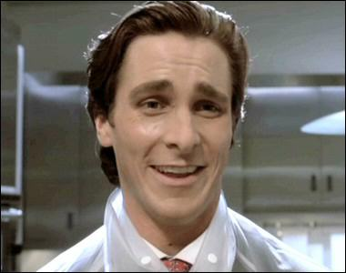 dating a psychopath, dating a sociopath American Psycho