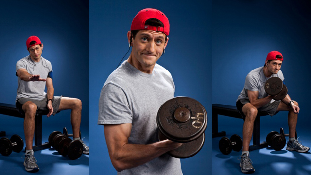 Paul Ryan at the gym