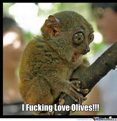 I love olives